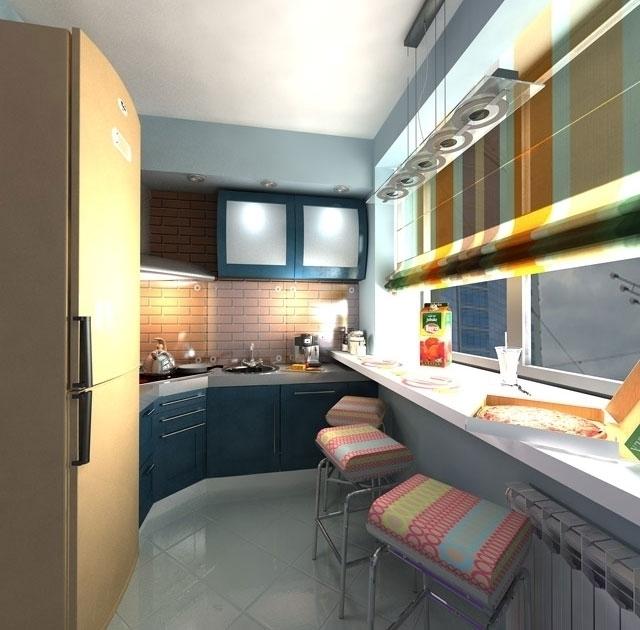 Как узкую кухню сделать удобной: идеи и советы.